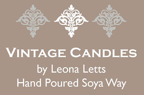 Vintage Candles by Leona Letts